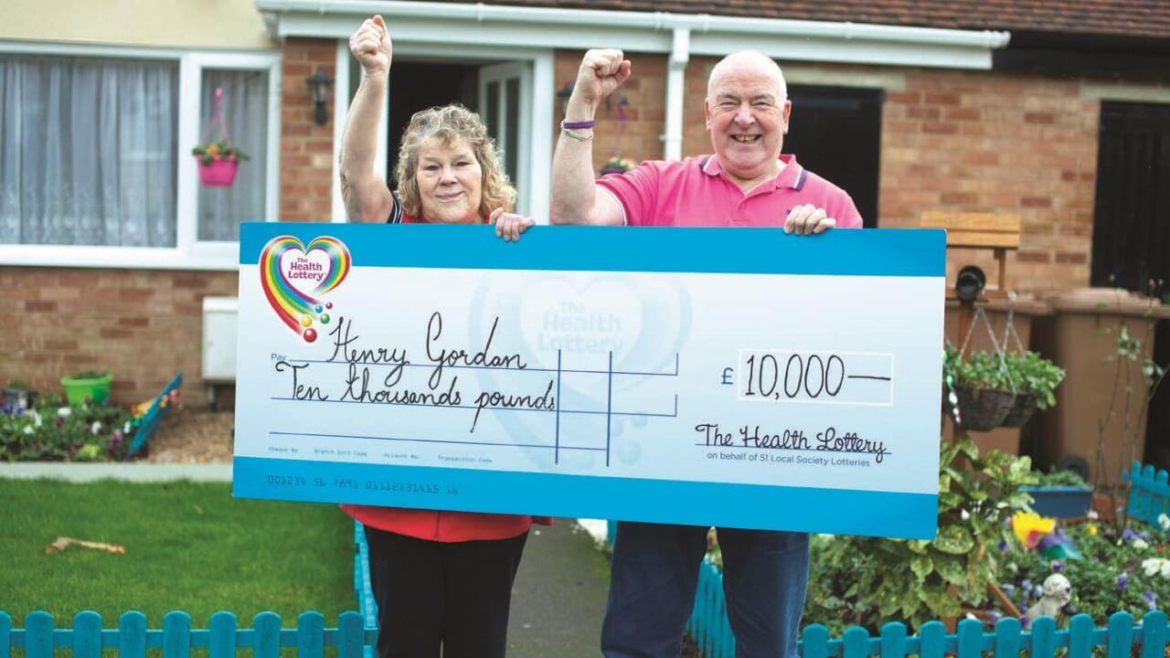 Mr Gordon becomes a winner with QuickPick