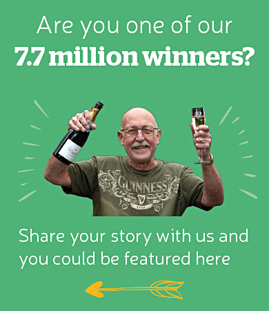 Are you one of our 7.7 Million Winners?
