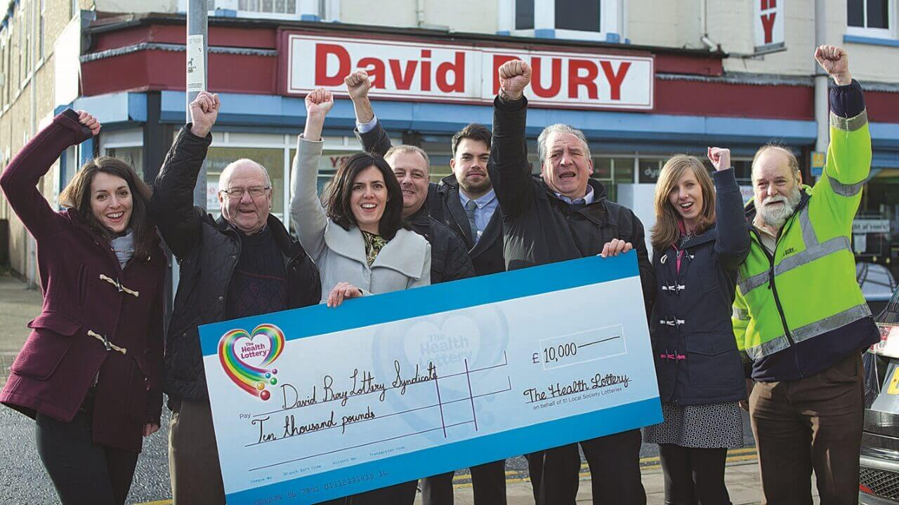 Switch to Health Lottery sparked a syndicate win