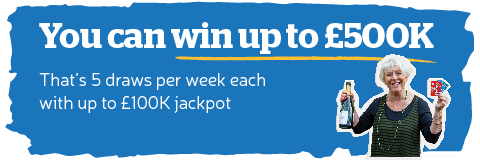 You Can Win up to £100k