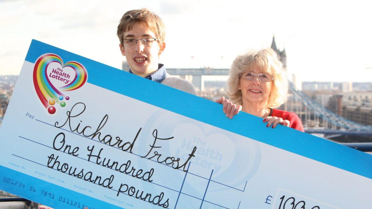 Richard Frost is a winner!