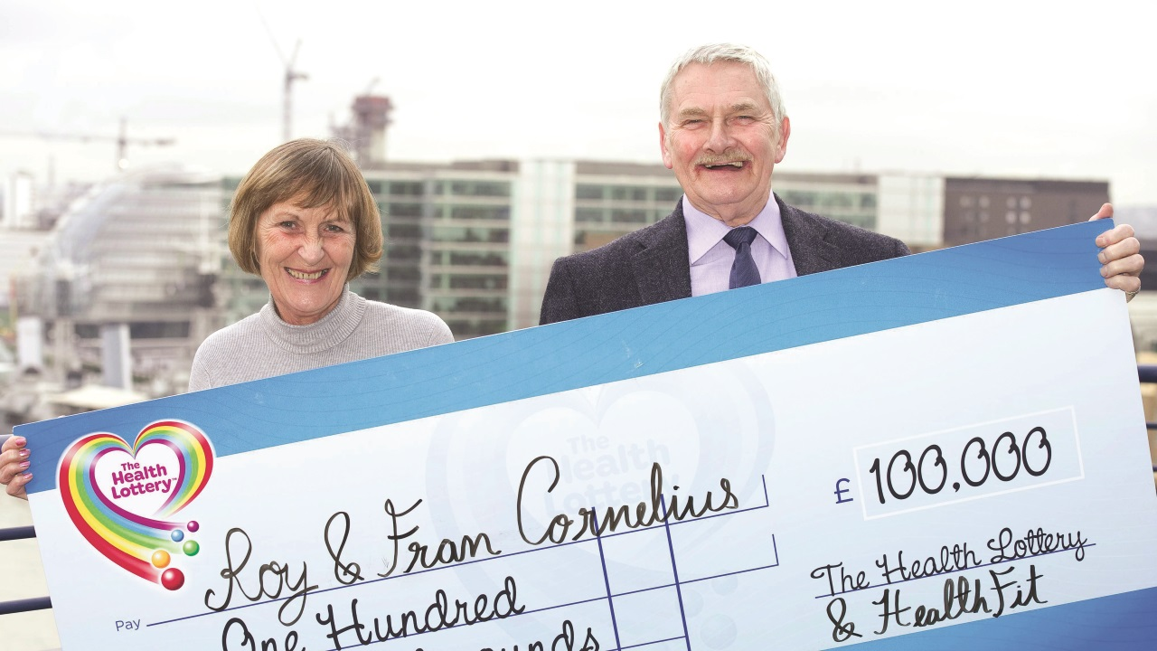 Roy and Fran win £100,000!